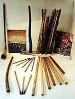 Didgeridoos Bambus Holz